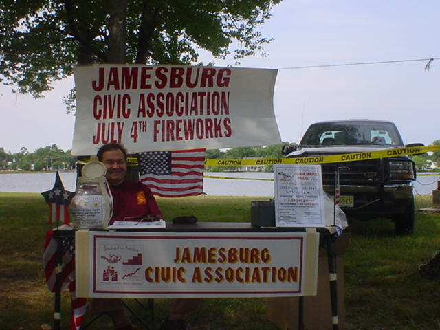 The Jamesburg Civic Association Table