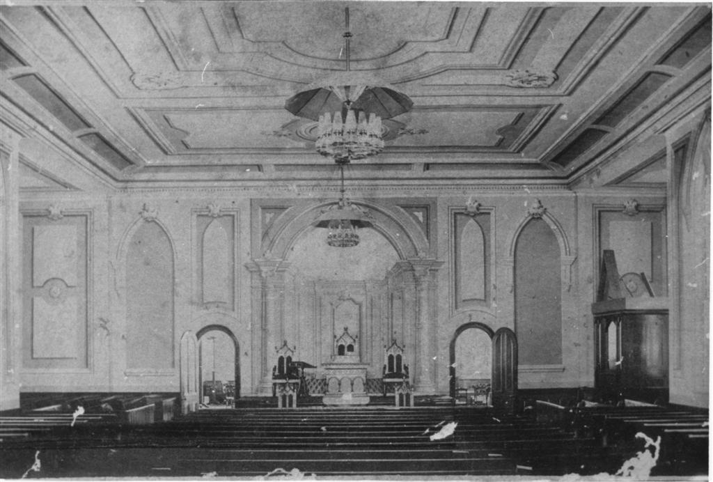 The Sanctuary in 1883.