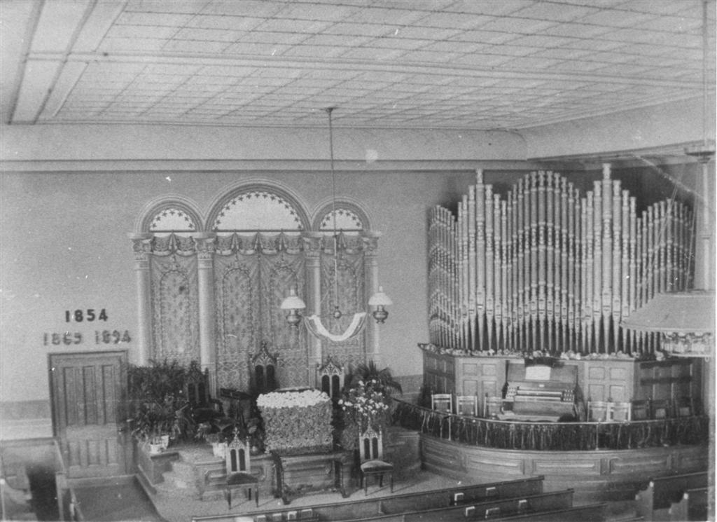 The Renovated Sanctuary in 1894.