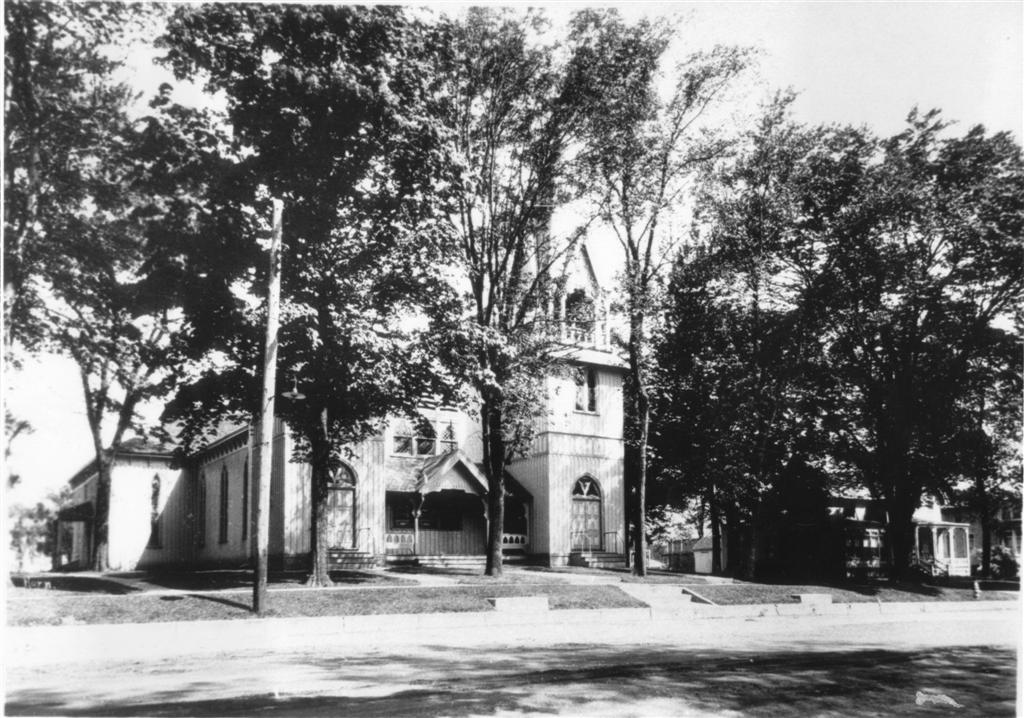 1928 View of the Church.
