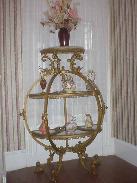 Ralph E. Marryott's Victorian Stand now on Display at Lakeview