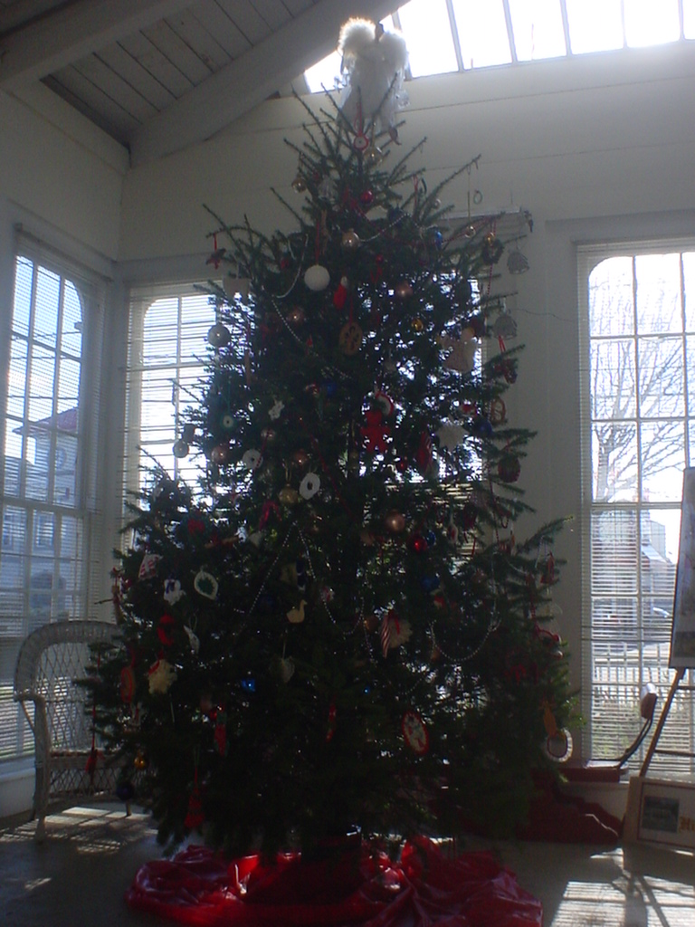 The Lakeview Mansion Christmas Tree