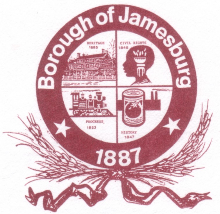 Borough of Jamesburg Town Seal